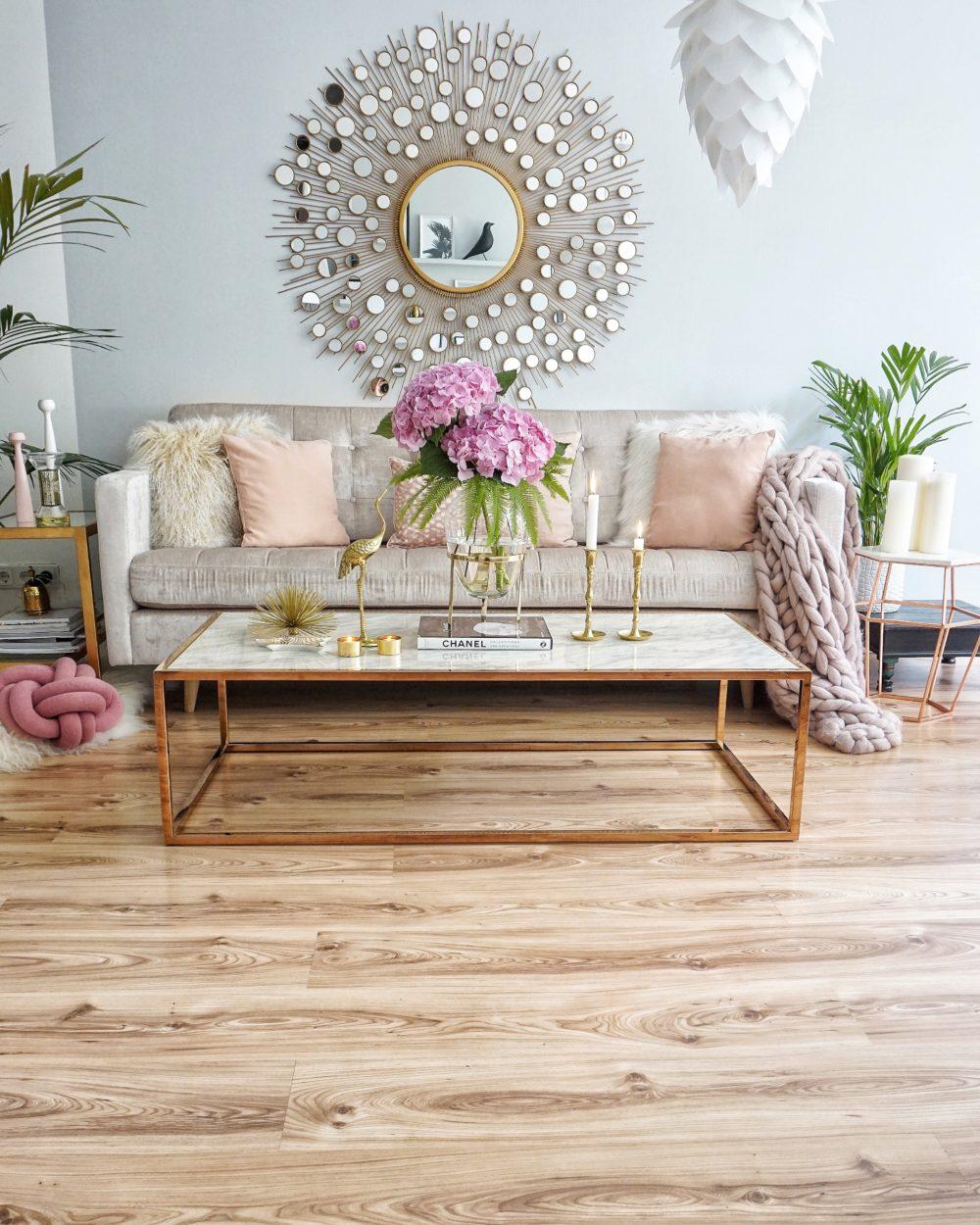 easyinterieur sonnenspiegel im wohnzimmer
