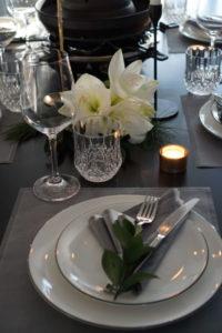 Festlich gedeckter Tisch vorne,Easyinterieur