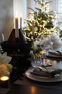 Tischdeko mit Weihnachtsbaum, Easyinterieur