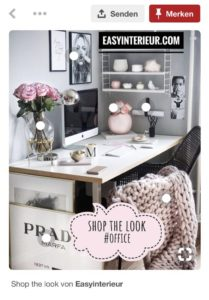easyinterieur shop the look pinterest office