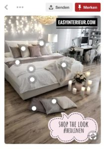 easyinterieur shop the look bedlinen pinterest