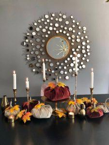 Easyinterieur DIY sToff Kürbis dekoriert
