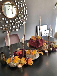Easyinterieur DIY Stoff Kürbis basteln und dekorieren