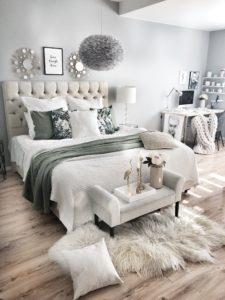 Schlafzimmer Nuer Look