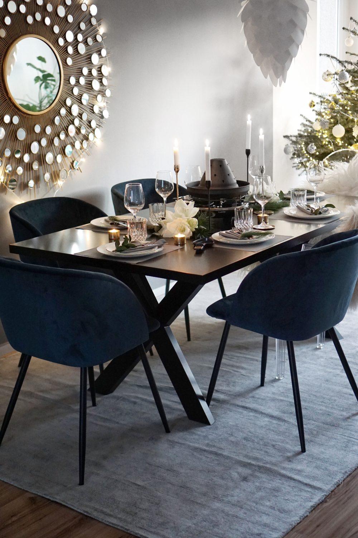 festlich dekorierter Tisch, Easyinterieur