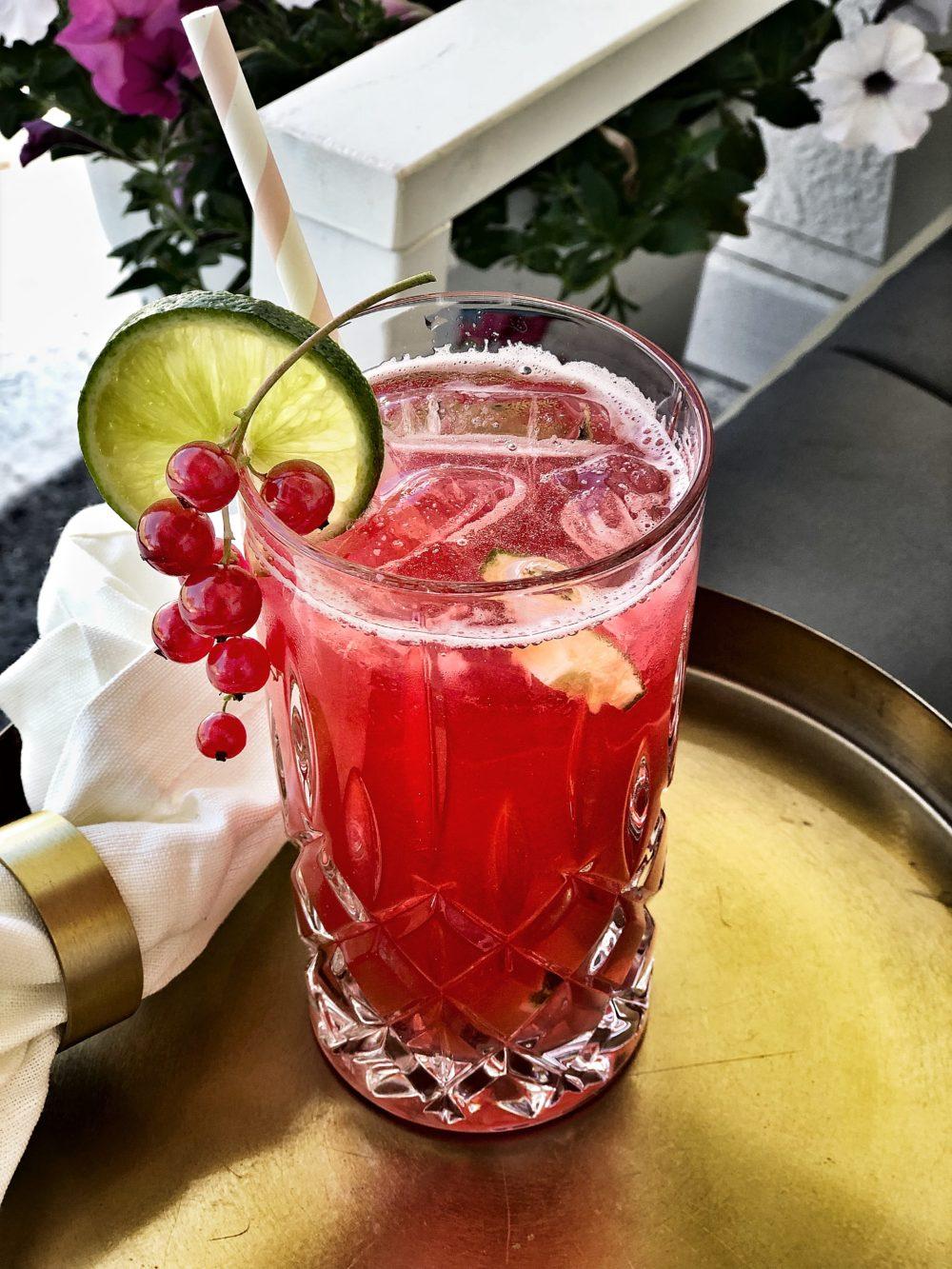 Easyinterieur Johannisbeern Drink Limette